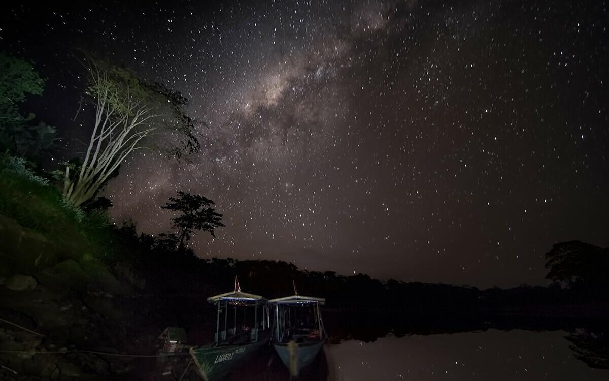 Amazonia brazil milky way