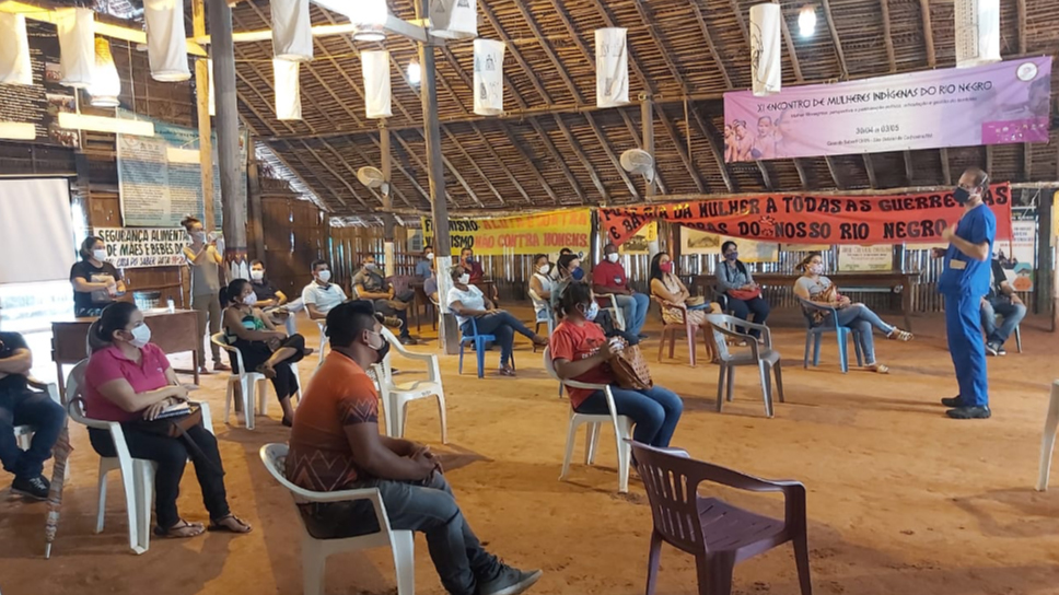 Meeting of the Inter-Institutional Committee on Covid-19, Sao Gabriel da Cachoeira, Rio Negro