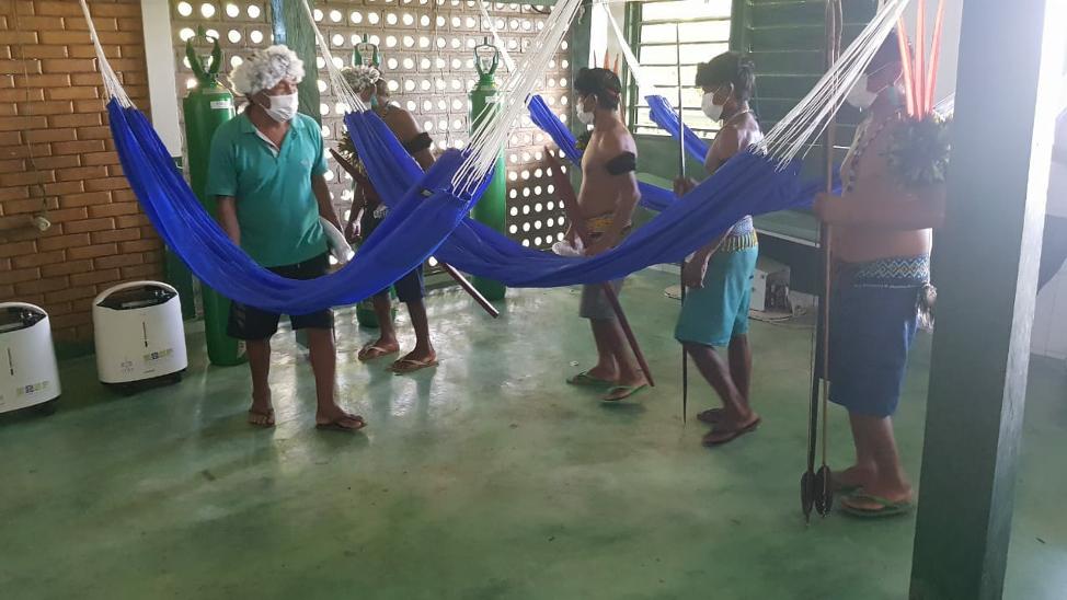 Primary Health Care unit, Maturaca Yanomani, Rio Negro