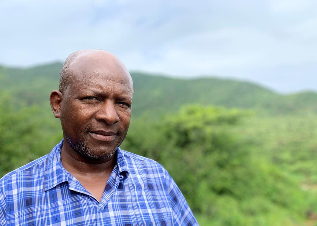 Portrait of Ole Kaunga Mali
