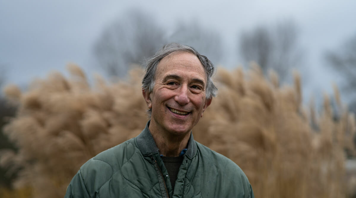 Portrait of Peter Seligmann