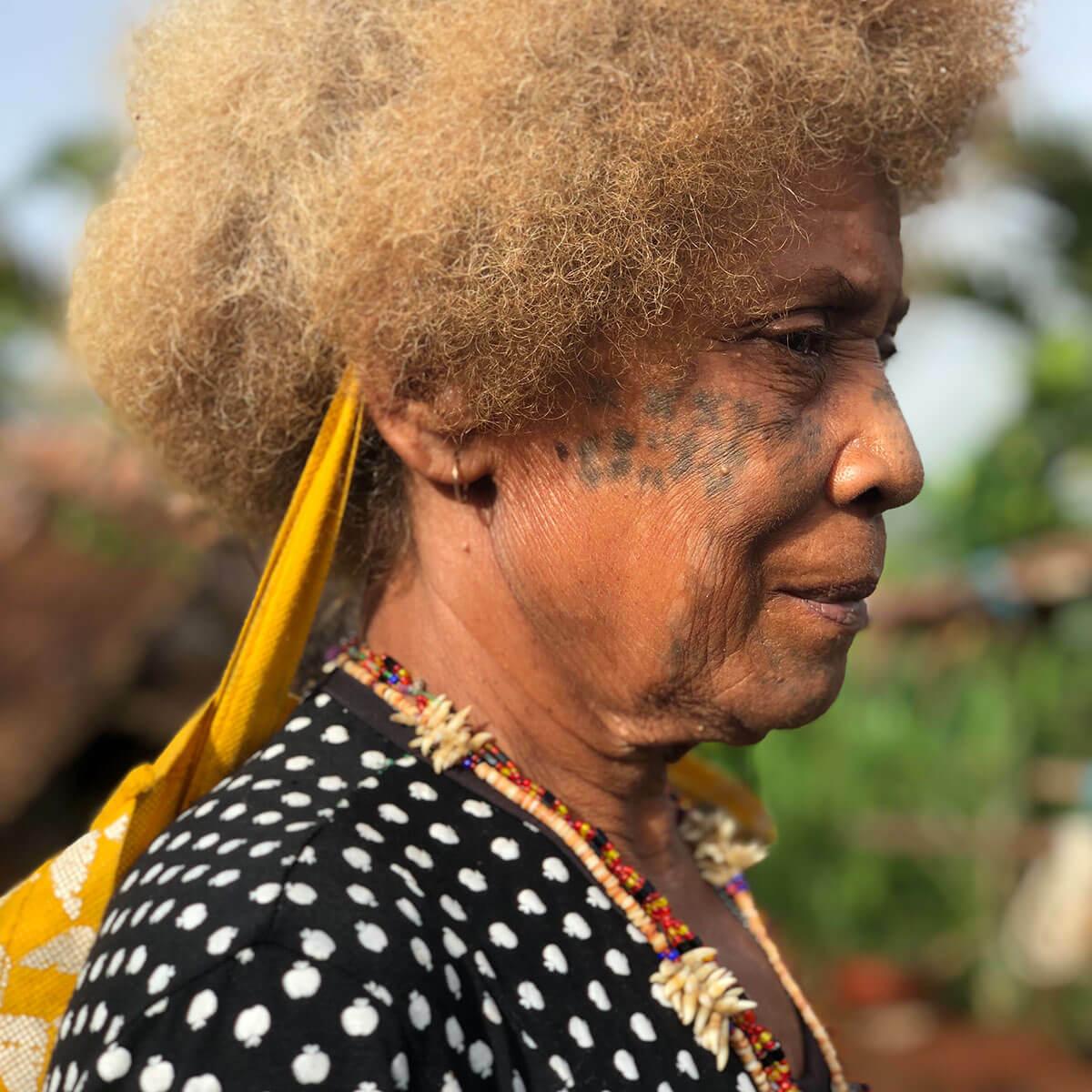 Profile of a tribal member