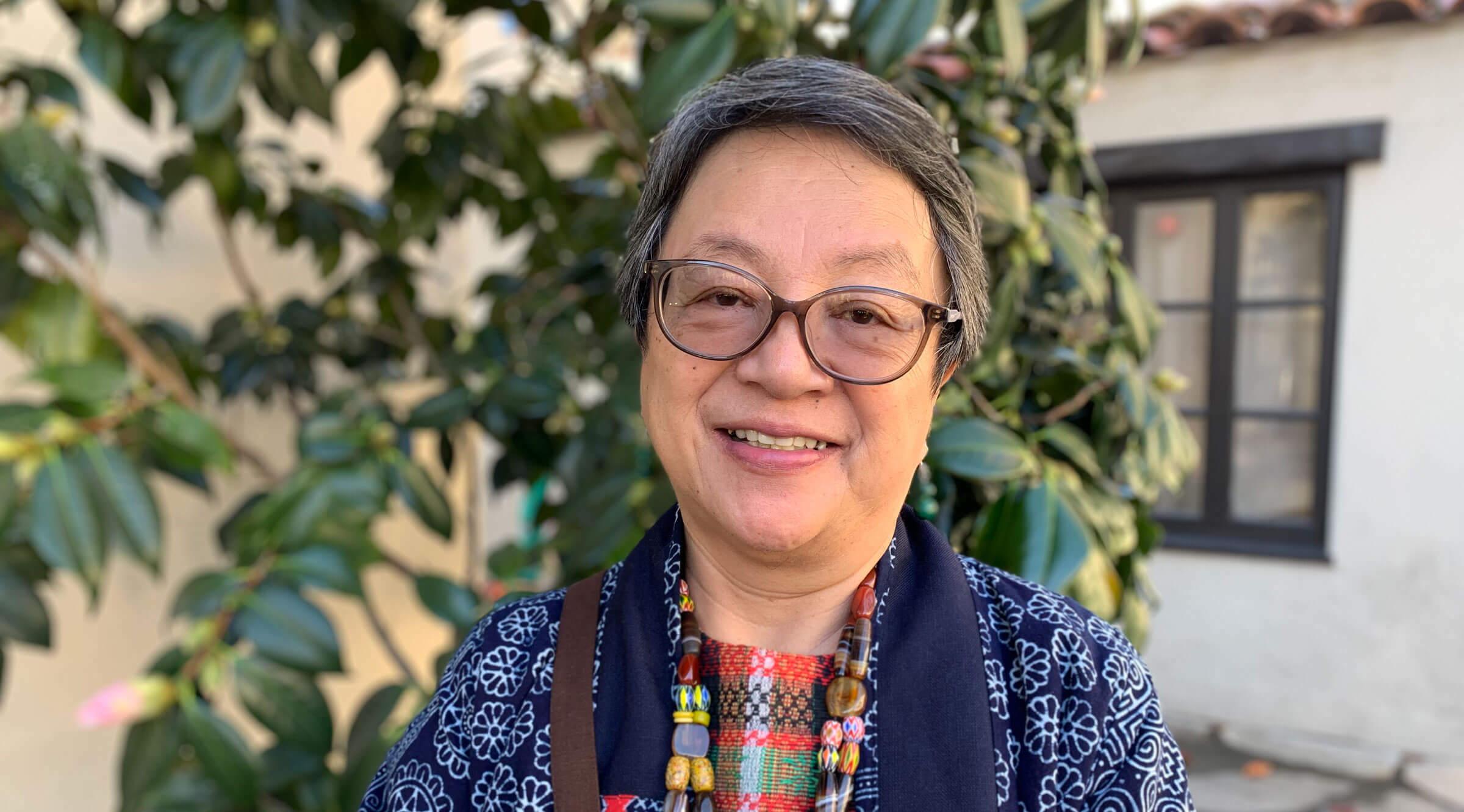 Portrait of Victoria Tauli-Corpuz