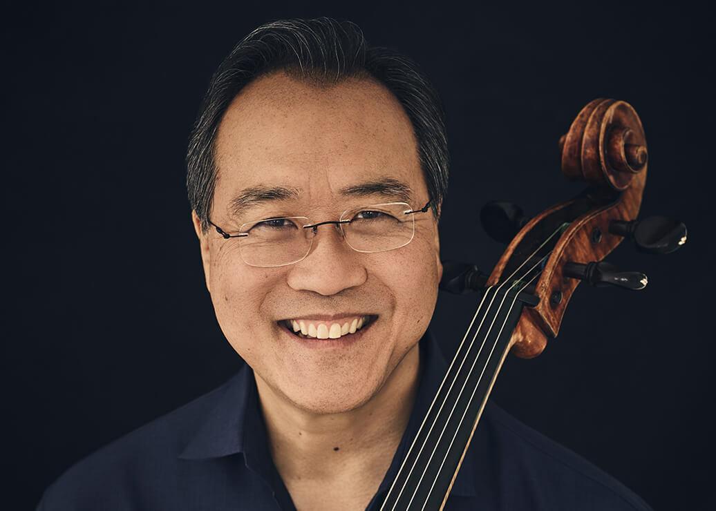 Portrait of Yo Yo Ma